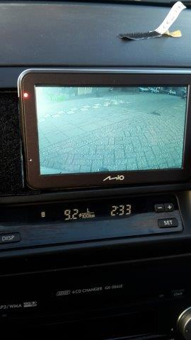 Mio Spirit en backup camera in Subaru Outback 2009 (22).jpg